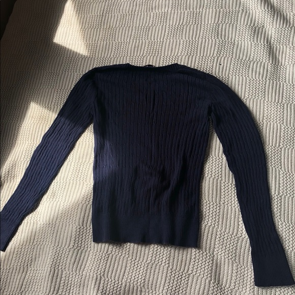 Merona Tops - Navy blue sweater